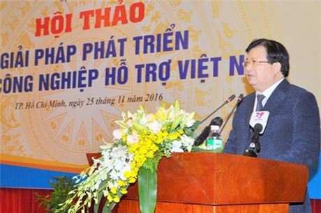 Pho thu tuong: Doanh nghiep Viet khong the mai la xuong gia cong - Anh 1