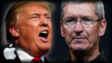 Trump se uu dai lon de 'ep' Apple san xuat iPhone tai My - Anh 1