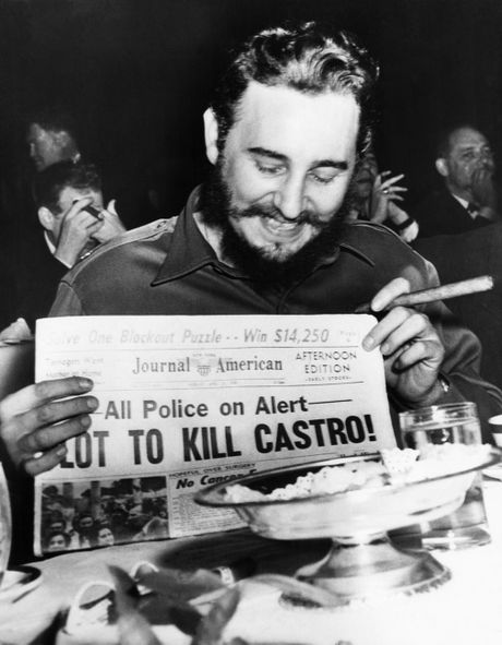 Cuoc doi cuu Chu tich Cuba Fidel Castro qua anh - Anh 5