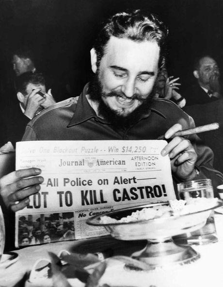 Cuoc doi lanh tu cach mang Cuba Fidel Castro qua anh - Anh 4