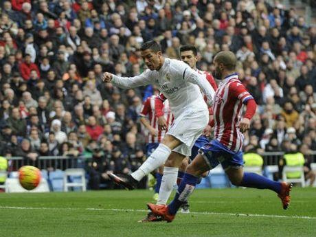 Real Madrid - Gijon: Khong Bale, da co Ronaldo - Anh 1