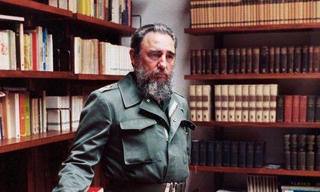 Cuba to chuc quoc tang 9 ngay cho Lanh tu Fidel Castro - Anh 1