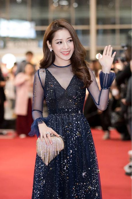 Chi Pu duoc don chao nong nhiet tai WebTVAsia Awards 2016 - Anh 2