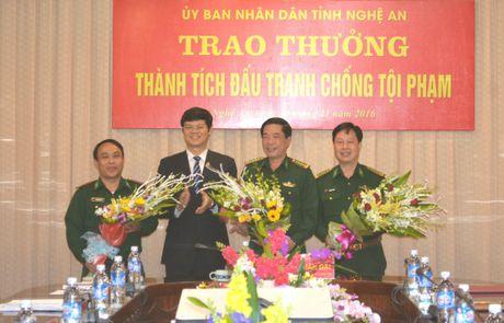 Nghe An: Thuong 80 trieu dong cho Ban chuyen an bat giu 69 banh heroin - Anh 1