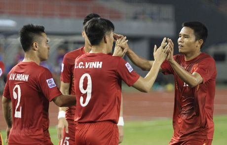 Tuyen Viet Nam gap Indonesia o ban ket AFF Cup - Anh 1