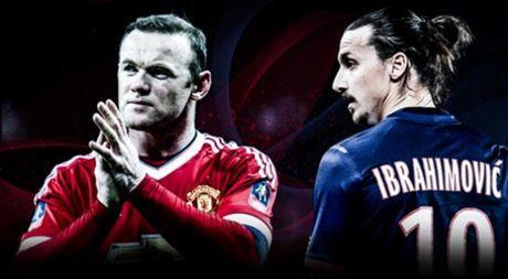 Ibrahimovic dang dan, keu goi su ton trong danh cho Wayne Rooney - Anh 1
