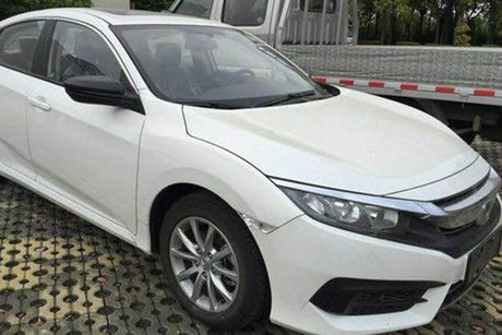 Honda Civic co them phien ban dong co 1.0 tai thi truong Trung Quoc - Anh 1
