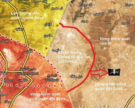 Quan doi Syria giai phong them dia ban tu IS o dong Aleppo - Anh 1