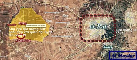 Quan doi Syria giai phong them dia ban tu IS o dong Aleppo - Anh 2