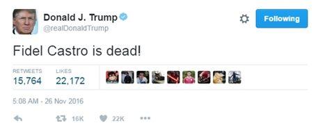 Donald Trump: 'Fidel Castro da mat!' - Anh 1