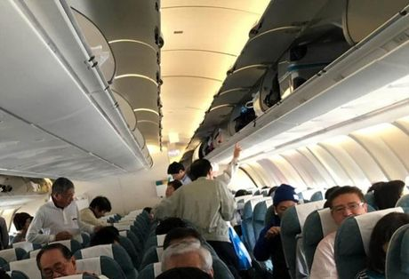 Da Nang: Bat du khach trom hon 400 trieu dong tren may bay - Anh 1
