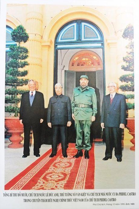 Ba lan tham Viet Nam cua lanh tu Fidel Castro - Anh 2
