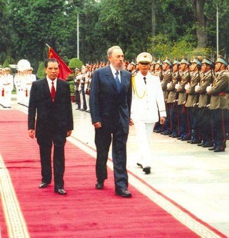 Ba lan tham Viet Nam cua lanh tu Fidel Castro - Anh 3