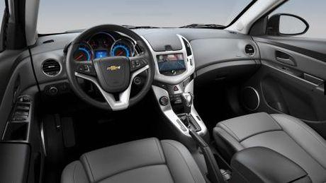 Ra mat Chevrolet Cruze ban nang cap - Anh 2