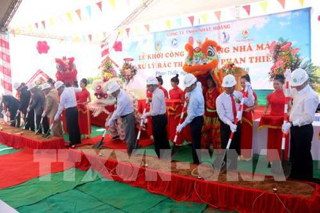 Binh Thuan xay dung nha may xu ly rac thai dau tien - Anh 1