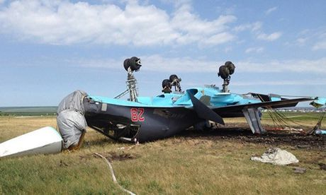 Nga cong bo nguyen nhan tiem kich bom Su-34 lat ngua khi ha canh - Anh 1