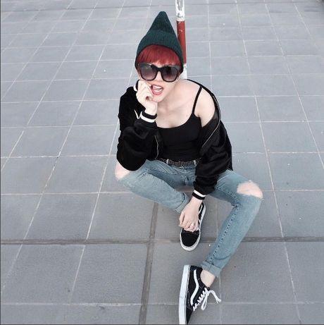 Phong cach thoi trang chang thua kem fashionista nao cua 'ban gai' Son Tung - Anh 6