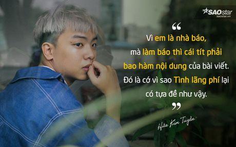 Hua Kim Tuyen: 'De den voi Bai Hat Hay Nhat, toi phai doi mat voi mot van game nhieu man' - Anh 3