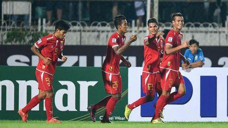 Thang loi nghet tho truoc Malaysia, Myanmar gap Thai Lan o ban ket - Anh 1