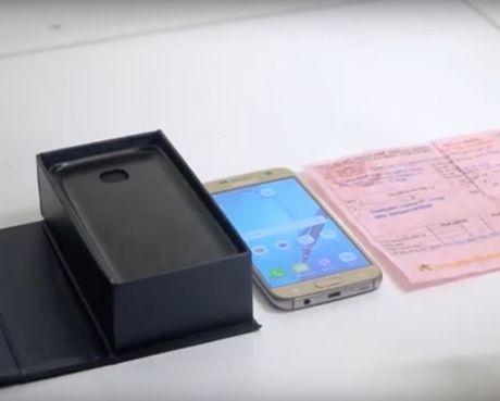Bi lua mua Samsung S7 nhai kem hoa don cua The Gioi Di Dong - Anh 1
