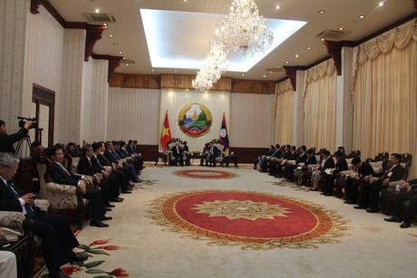 Tong Bi thu Nguyen Phu Trong tham CHDCND Lao - Anh 10