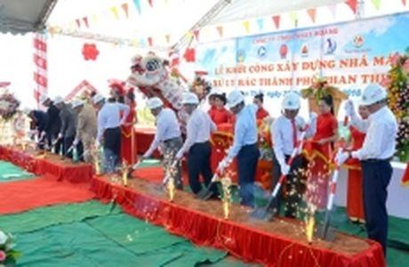 Khoi cong xay dung nha may xu ly rac TP Phan Thiet - Anh 1