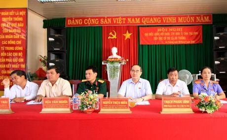 Chu tich Nguyen Thien Nhan: Thoat ngheo thong qua viec tham gia HTX - Anh 1