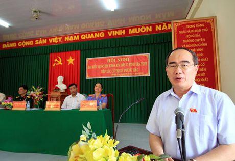 Chu tich Nguyen Thien Nhan: Thoat ngheo thong qua viec tham gia HTX - Anh 3