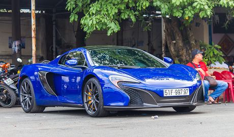 Sieu xe McLaren 650S cua Minh Nhua ra bien doc - Anh 3