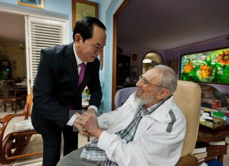 'Trai tim nguoi Viet luon khac sau cau noi cua Fidel Castro' - Anh 1