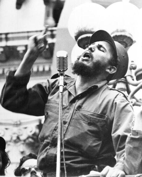 Nhung dau an cuoc doi Fidel Castro qua anh - Anh 4