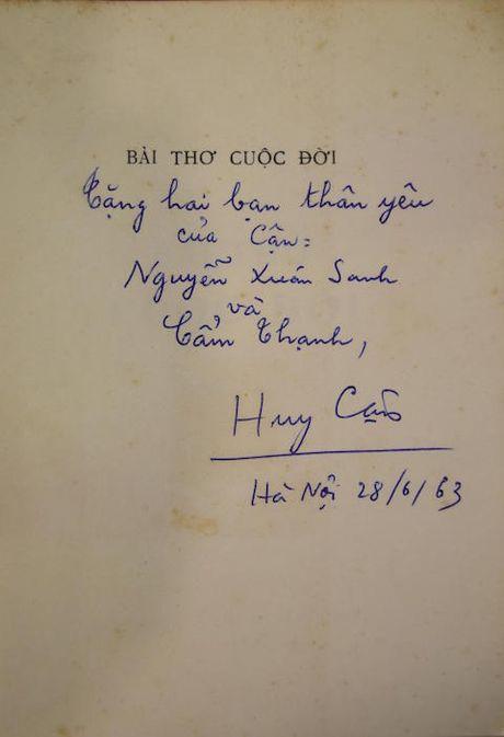 Trien lam sach quy hiem tu truoc 1945: Co thu but va chu ky cua Ngo Tat To, Huy Can, Nhuong Tong... - Anh 4