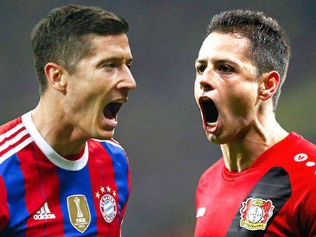 Lewandowski vs. Chicharito: Tran chien 'tho san' - Anh 1