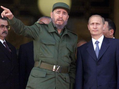 Tong thong Putin: 'Ky uc ve lanh tu Fidel song mai trong tim nguoi Nga' - Anh 1