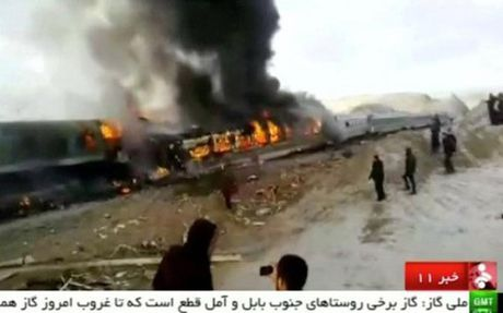 Iran: Tai nan tau hoa tham khoc khien 150 nguoi thuong vong - Anh 1