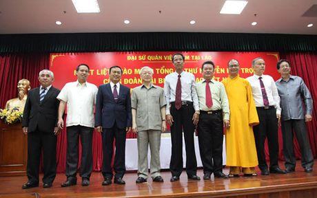 Tong Bi thu tham Dai su quan Viet Nam tai Lao - Anh 2