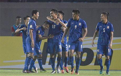 Thai Lan toan thang o AFF Cup 2016: Khi dang cap song hanh voi may man - Anh 1