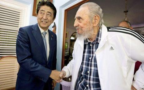 Du luan Nhat Ban ca ngoi lanh tu Cuba Fidel Castro - Anh 1