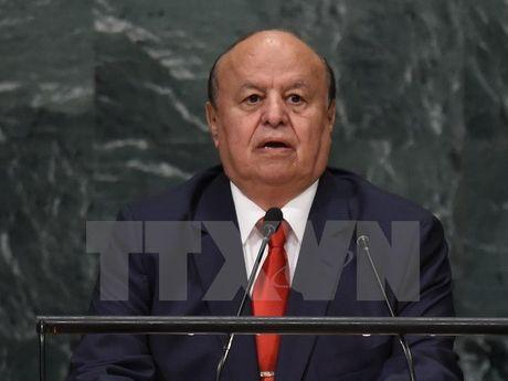 Tong thong Yemen Mansour Hadi bat ngo tham thanh pho Aden - Anh 1