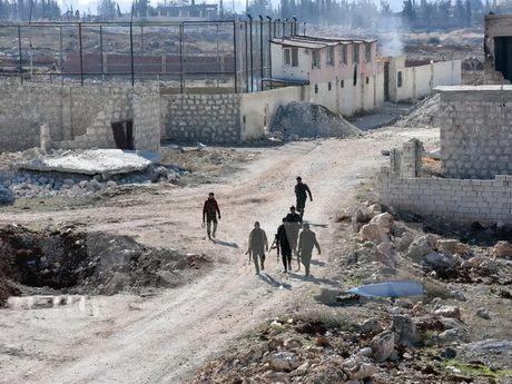 Qatar se tiep tuc ho tro phe doi lap Syria ke ca khi khong co My - Anh 1