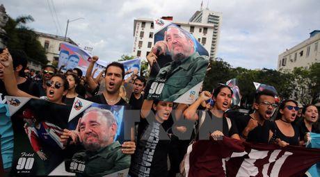 Khap noi tren the gioi khoc thuong lanh tu Fidel Castro - Anh 10