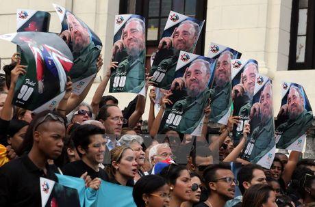 Khap noi tren the gioi khoc thuong lanh tu Fidel Castro - Anh 12