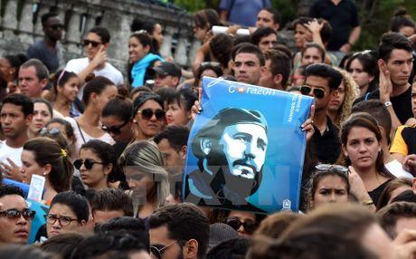 Khap noi tren the gioi khoc thuong lanh tu Fidel Castro - Anh 14