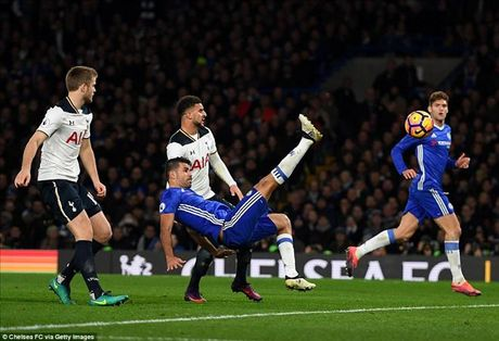 Chelsea 2-1 Tottenham: Conte nhuom xanh nuoc Anh - Anh 4