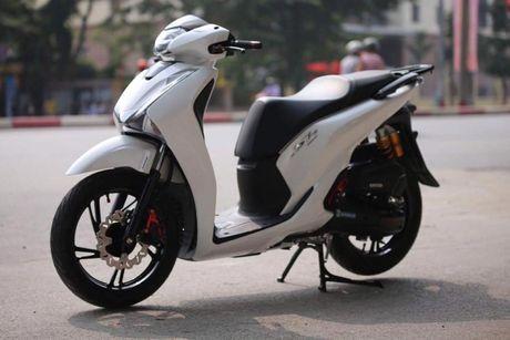 Bo 3 Honda SH 2017 'do khung' cua dan choi Viet - Anh 10