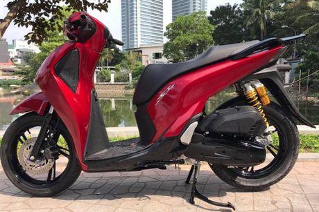 Bo 3 Honda SH 2017 'do khung' cua dan choi Viet - Anh 4