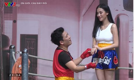 Truong Giang cau hon tinh cu cua Tran Thanh trong 'On gioi...' - Anh 2