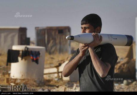 Muc kich tang, phao Quan doi Iraq xa mua dan vao Mosul - Anh 5