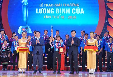 85 thanh nien duoc trao giai Luong Dinh Cua - Anh 1