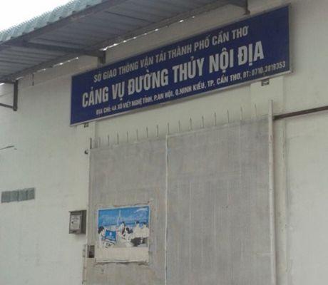 Can Tho: Giam doc Cang vu duong thuy noi dia bi ky luat khien trach - Anh 1